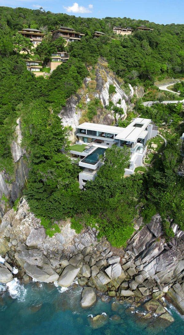 villa amanzi in thailand 01 Extraordinary Villa Amanzi In Thailand