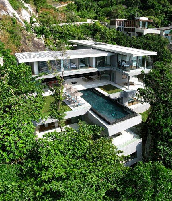 villa amanzi in thailand 03 Extraordinary Villa Amanzi In Thailand