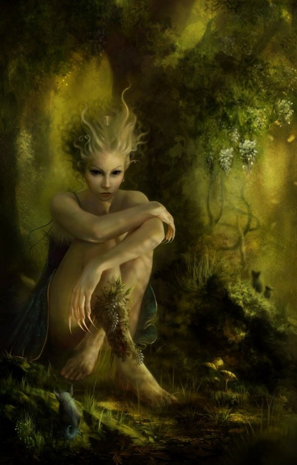 10 hellish creatures from the shadowland Goddess of nature greek
