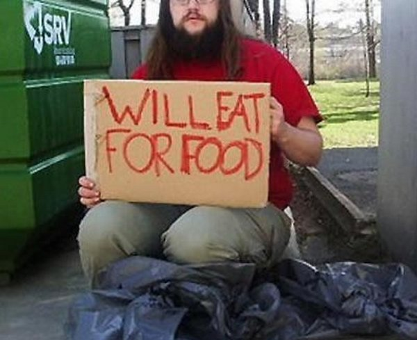 homeless signs 10 Creative Hilarious But Sad Homeless Signs