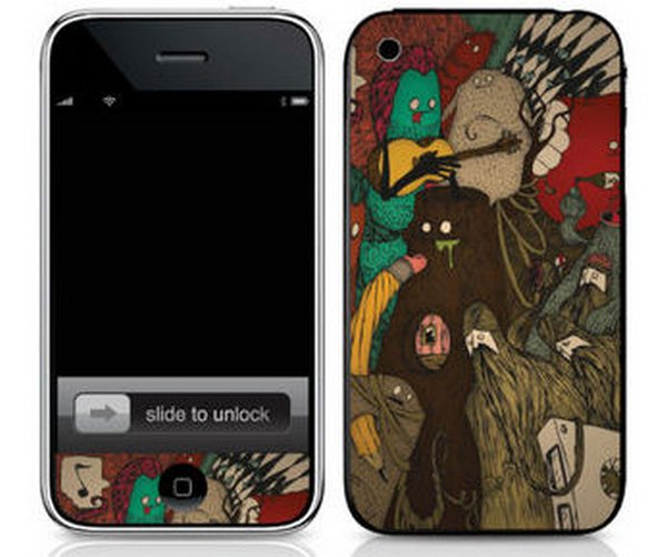 iphone skins 08 20 Awesome iPhone Skins