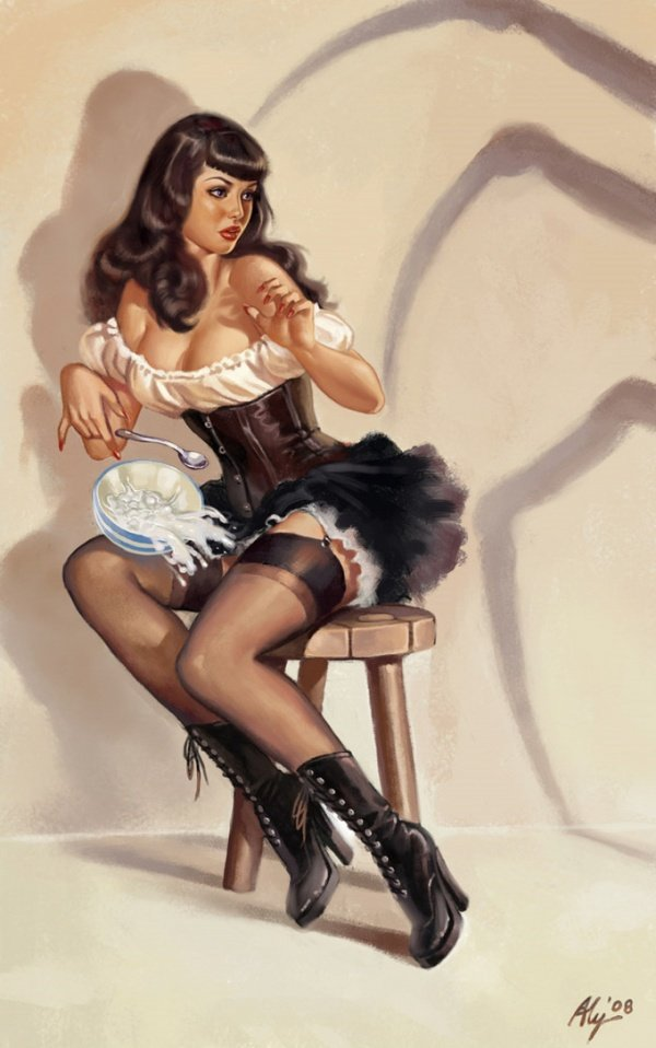 pin up girls 19 A Speck Of Spice   Irresistibly Pin Up Style 
