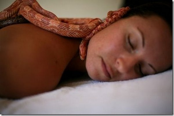 snake message 04 Refreshing Snake Massage In Israel