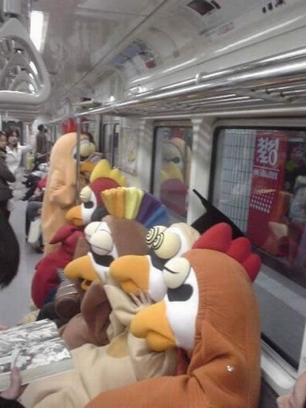 weirdest people in the subway 20 20 Weirdest People On The Subway