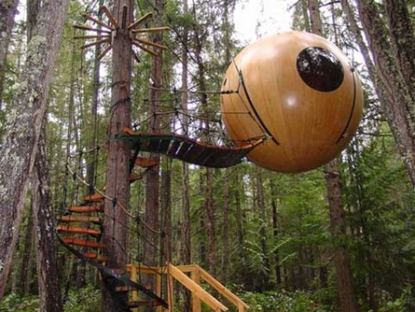 amazing tree houses 06 6 Designer Tree Houses Youd Love to Live In