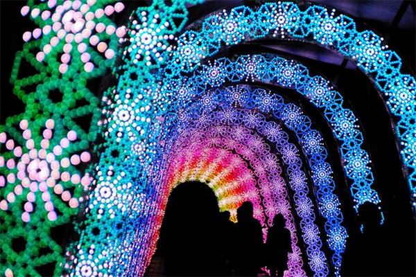 amazing winter light festival in japan 06 Unreal Light Show: Winter Light Festival in Japan