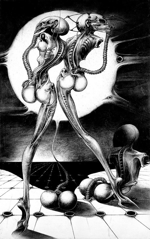 art noir by hr giger 01 Art Noir by HR Giger