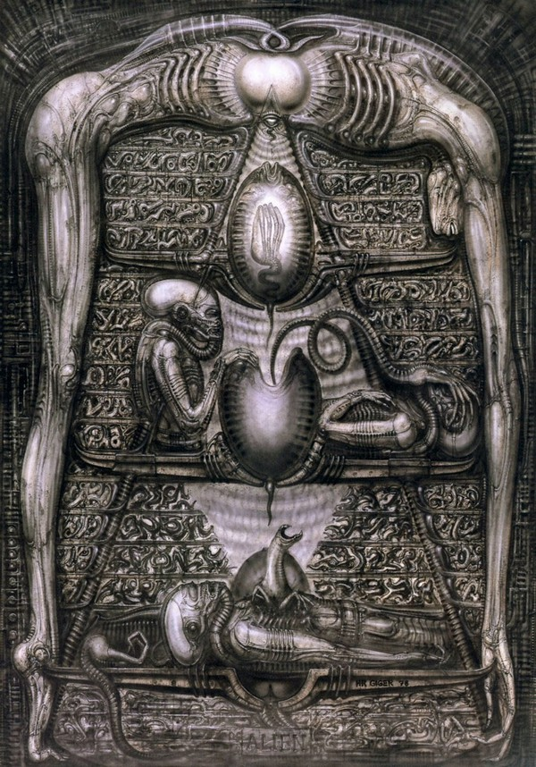 art noir by hr giger 03 Art Noir by HR Giger