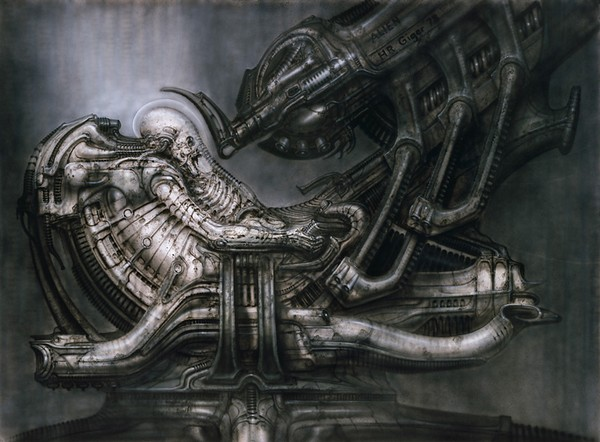 art noir by hr giger 04 Art Noir by HR Giger