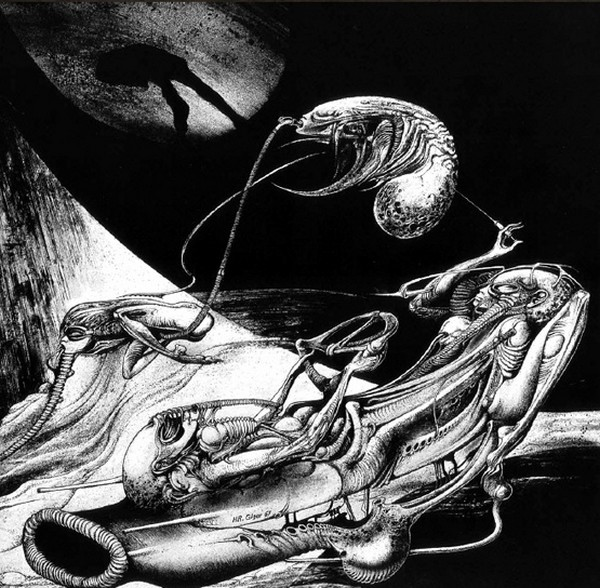 art noir by hr giger 07 Art Noir by HR Giger