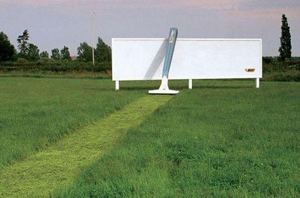 brilliantly clever billboard 01 Billboard Marketing Ideas: Top 24 Extremely Creative Billboards