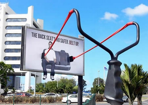 brilliantly clever billboard 02 Billboard Marketing Ideas: Top 24 Extremely Creative Billboards