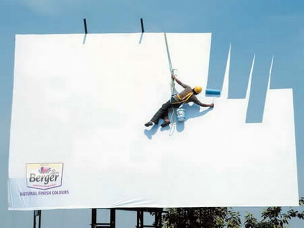 brilliantly clever billboard 03 Billboard Marketing Ideas: Top 24 Extremely Creative Billboards