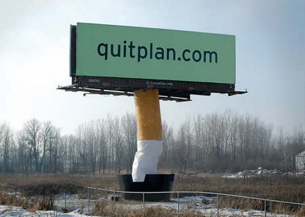 brilliantly clever billboard 08 Billboard Marketing Ideas: Top 24 Extremely Creative Billboards
