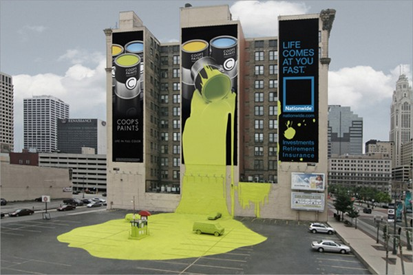 brilliantly clever billboard 11 Billboard Marketing Ideas: Top 24 Extremely Creative Billboards