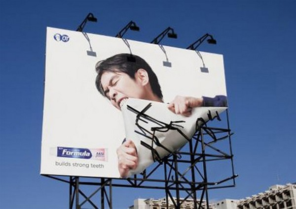 brilliantly clever billboard 12 Billboard Marketing Ideas: Top 24 Extremely Creative Billboards