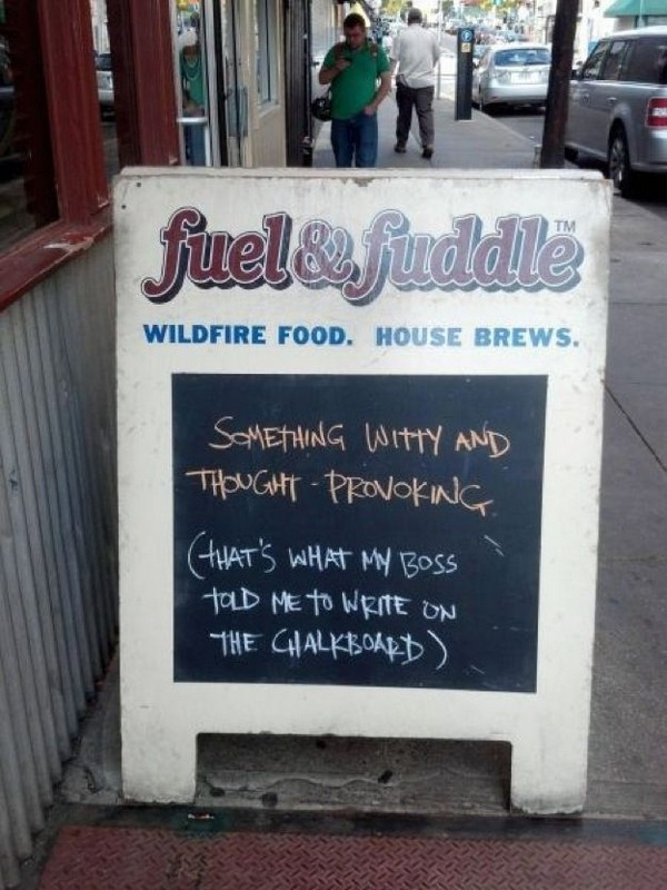 funny restaurant signs 01 Top 11 Funniest Restaurant Signs