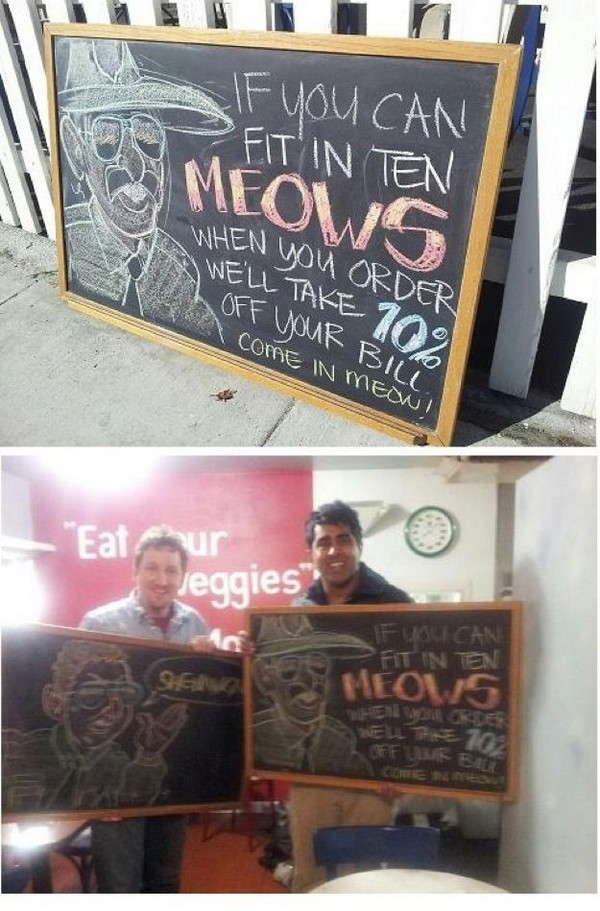 funny restaurant signs 04 Top 11 Funniest Restaurant Signs