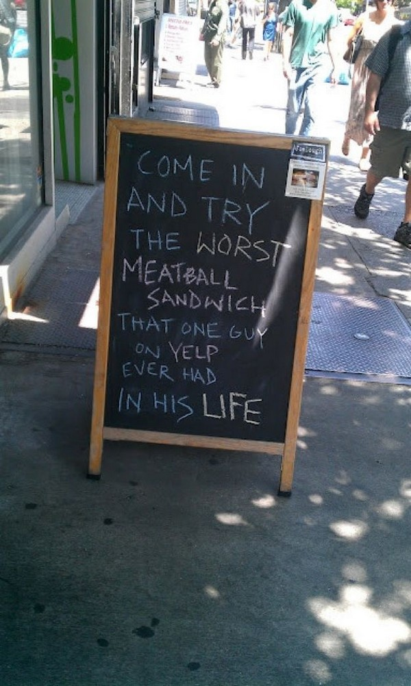 funny restaurant signs 06 Top 11 Funniest Restaurant Signs