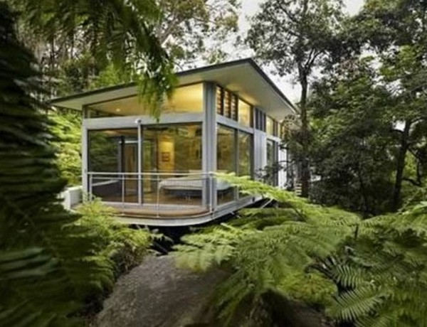 modern glass house 07 Top 10 Modern Dream Houses Made of Glass