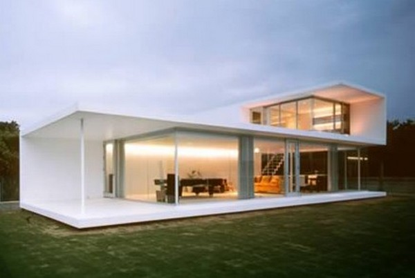 modern glass house 08 Top 10 Modern Dream Houses Made of Glass