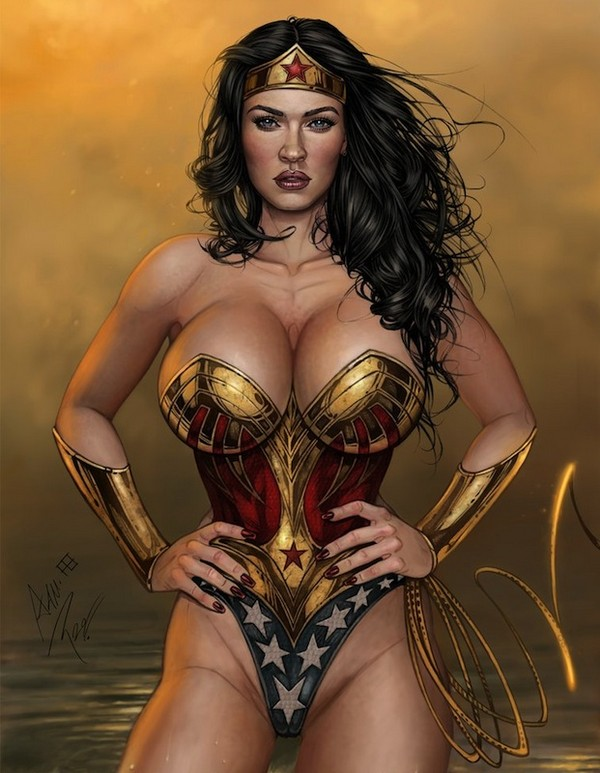 wonder woman 05 12 Stellar Examples of Wonder Woman Inspired Artwork