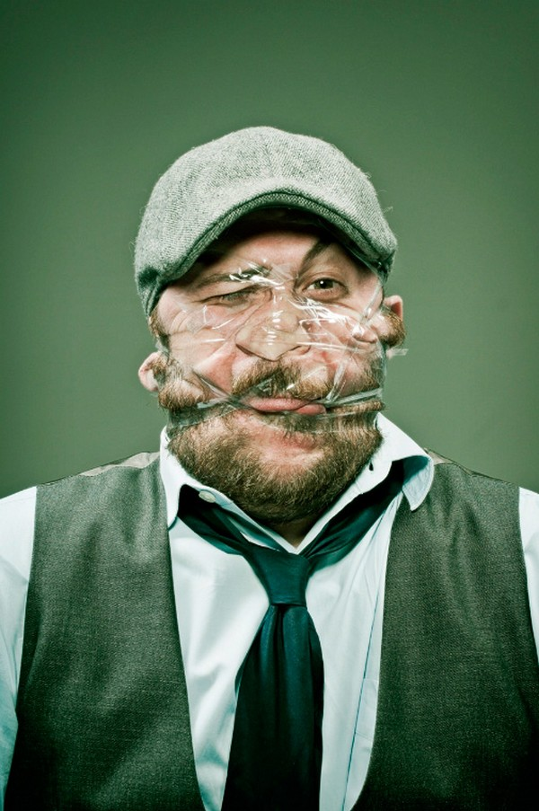 distorted scotch tape portraits 06 Distorted Scotch Tape Portraits