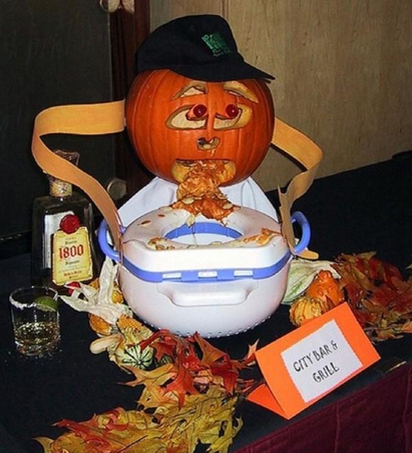 drunk pumpkins 10 Pumpkins + Alcohol = Not Feeling So Good