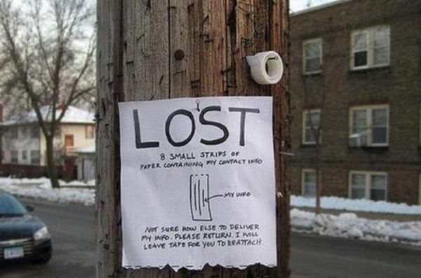 funniest signs on telephone poles 04 Top 10 Funniest Signs on Telephone Poles