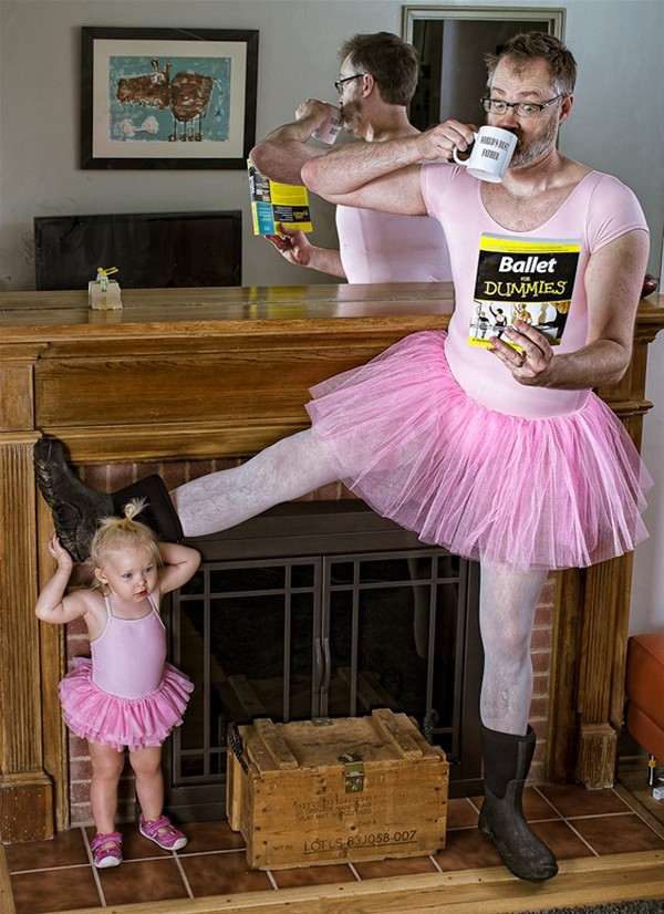 worlds best father 01 Hilarious World's Best Father Photo Series