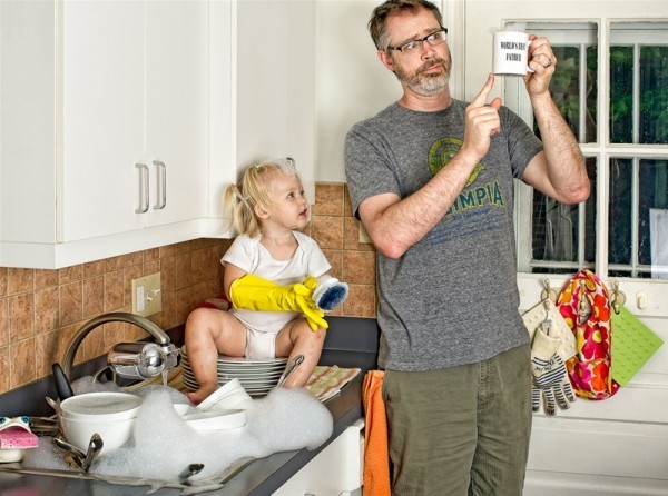 worlds best father 03 Hilarious World's Best Father Photo Series