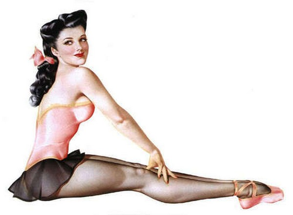 pin up girls 04 Top 10 Coolest Pin Up Girls Ever