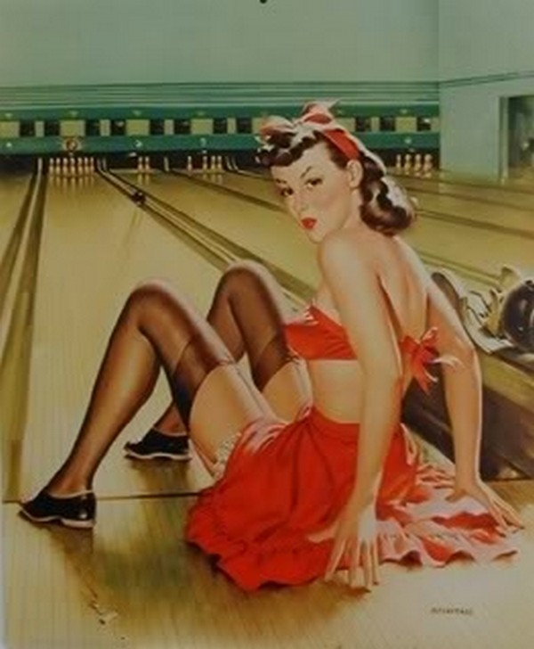 pin up girls 09 Top 10 Coolest Pin Up Girls Ever