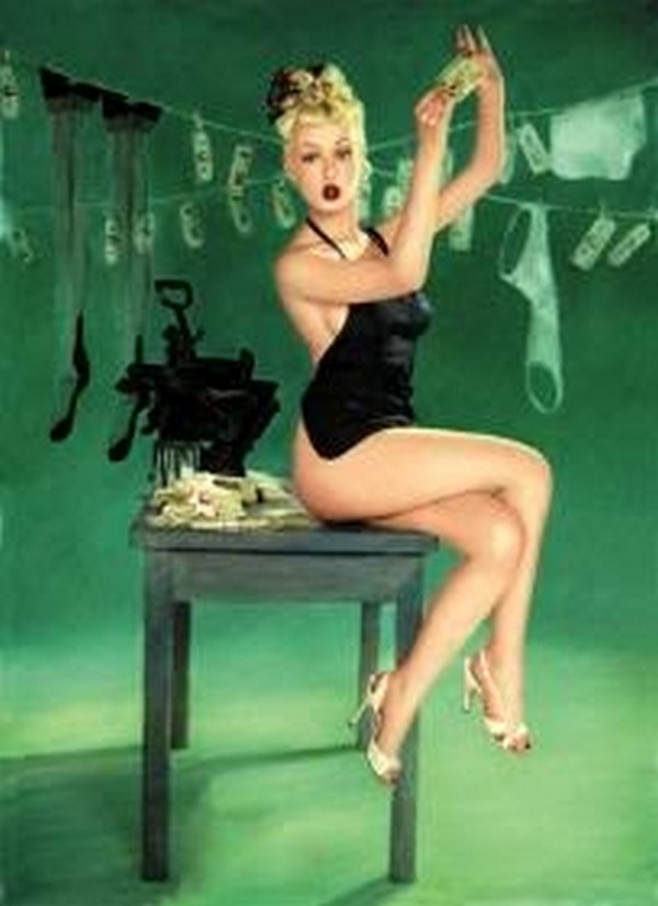 pin up girls 10 Top 10 Coolest Pin Up Girls Ever