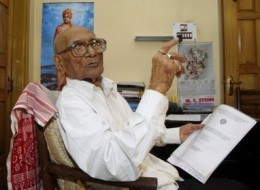 100-year-old Indian freedom fighter pursues PhD