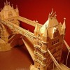A Miniature City Made out of Millions of Toothpicks