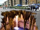 Extraordinary 3D Sidewalk Art Photos