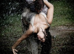 There Is Something Powerful About The Kissing In The Rain…