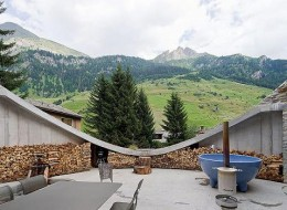 The House Inside A Hill: Villa Vals In Switzerland