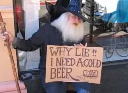 Creative Hilarious But Sad Homeless Signs