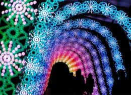 Unreal Light Show: Winter Light Festival in Japan