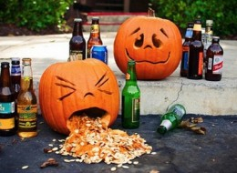 Pumpkins + Alcohol = Not Feeling So Good