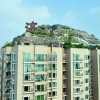 Unbelievably – IIllegal Mountain Villa Atop 26-Story Building