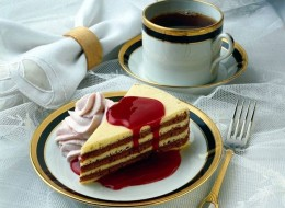 Would You Like A Cup Of Coffee And Sweet Breakfast?