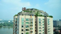 Unbelievably – IIllegal Mountain Villa Atop 26-Story Building